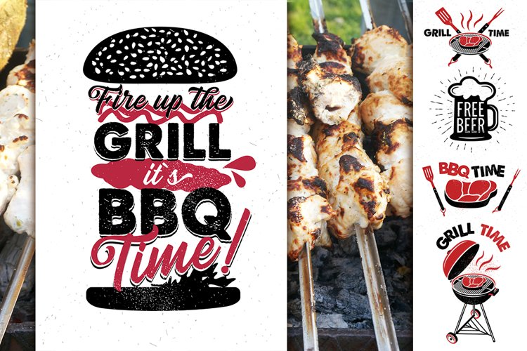 BBQ Lettering Collection example image 1