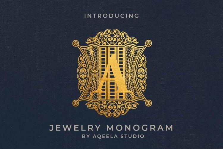Jewelry Monogram example image 1