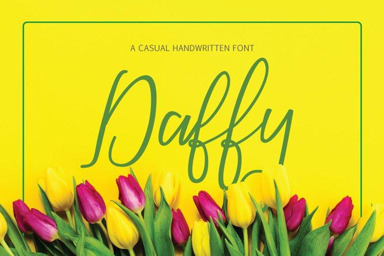 Daffy Font