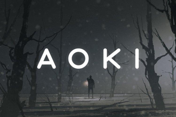 Aoki Typeface example image 1