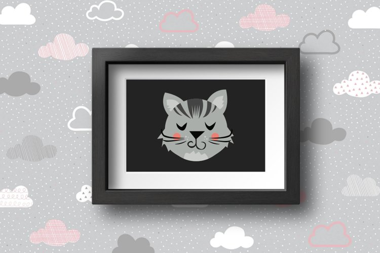 Cute Animals Characters Bundle example 5