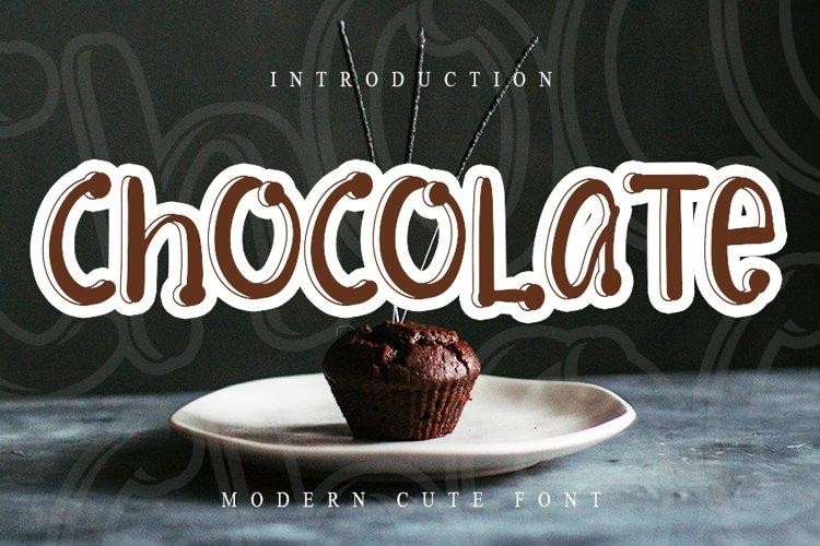 Chocolate example image 1