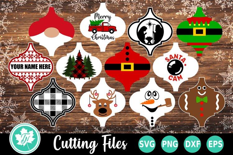 Arabesque Tile Ornament Bundle SVG PNG DXF EPS