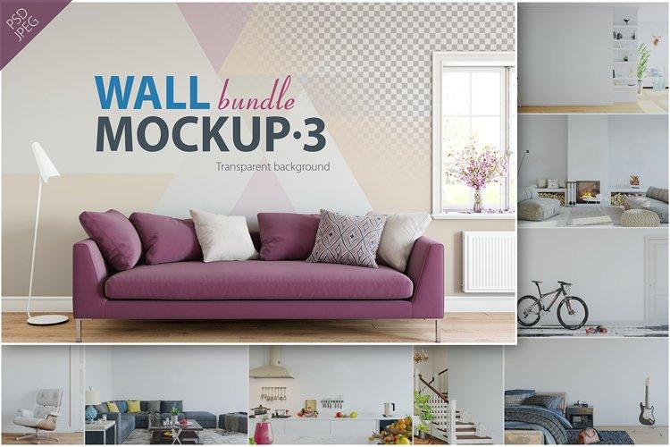 Wall Mockup - Bundle Vol. 3 example image 1