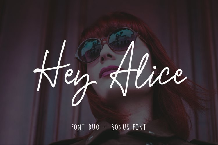 Hey Alice Font Duo - Free Font of The Week Font