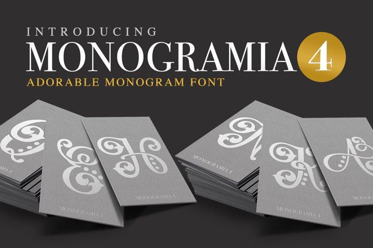 Monogramia 4 example image 1