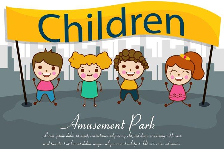 Children Day Illustration example image 1