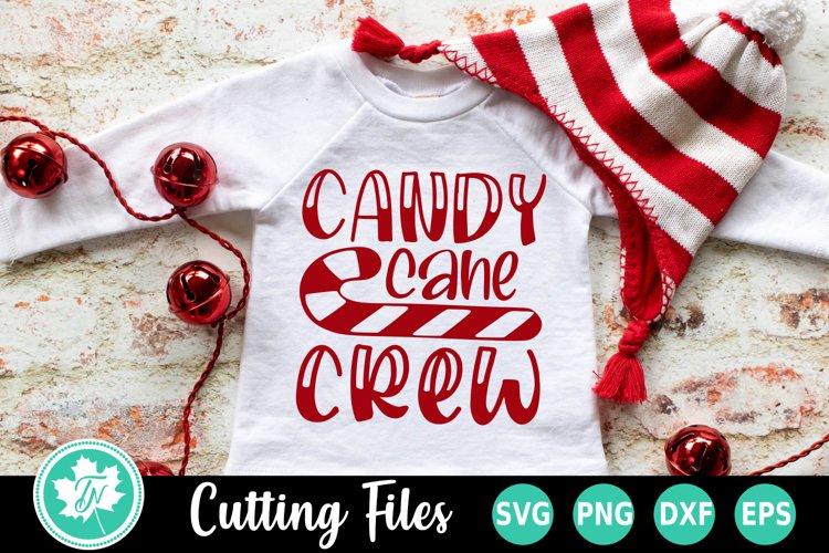Christmas SVG | Candy Cane SVG | Candy Cane Crew SVG