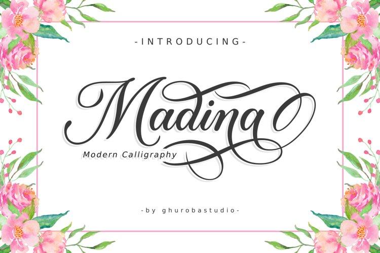 Madina | Modern Calligraphy example image 1