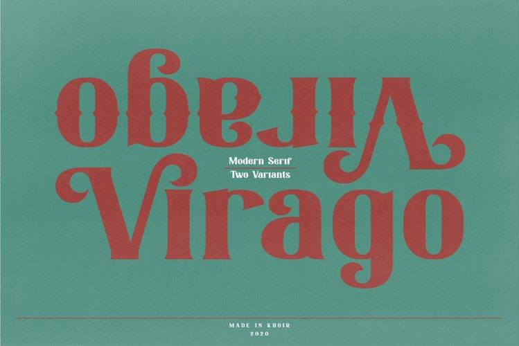 Virago - Modern Serif example image 1