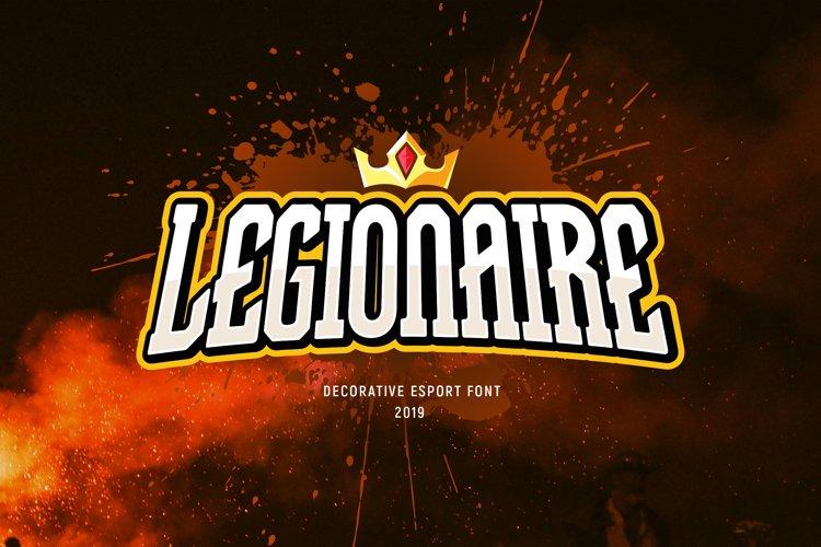 Legionaire - Esport Font example image 1
