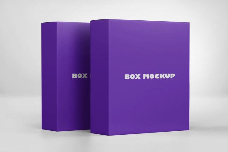 Software Box PSD Mockups