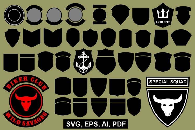 Vector patch templates example image 1