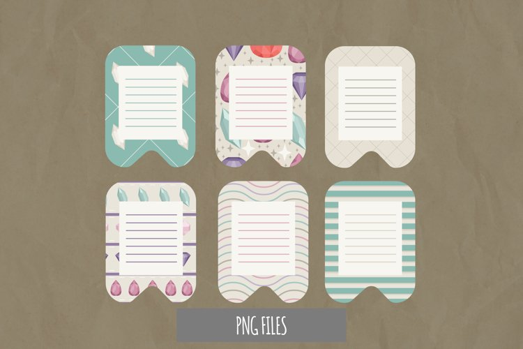 Diamond with Vintage Color Seamless Pattern Journaling Page example image 1