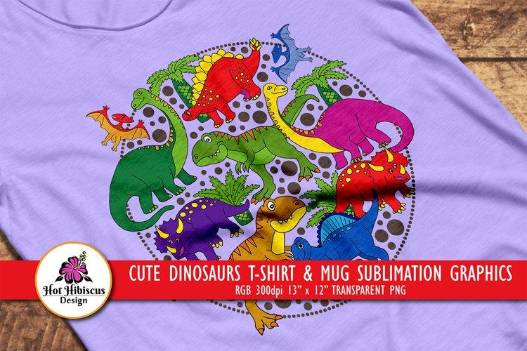 Dinosaur Sublimation Design | Dinosaurs Sublimation Graphics