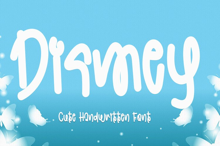 Dismey - Cute Handwritten Font example image 1