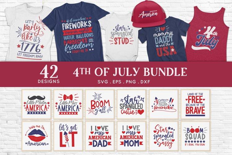 4th of july svg bundle dxf png eps - patriotic svg
