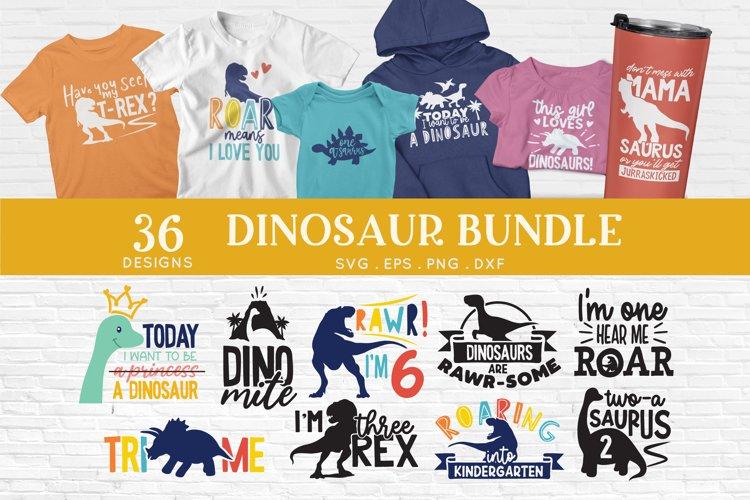Dinosaur svg cut files - dinosaur birthday svg silhouette