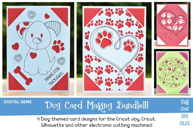 Dog Card Bundle! Works with the Cricut Joy! Best Seller!