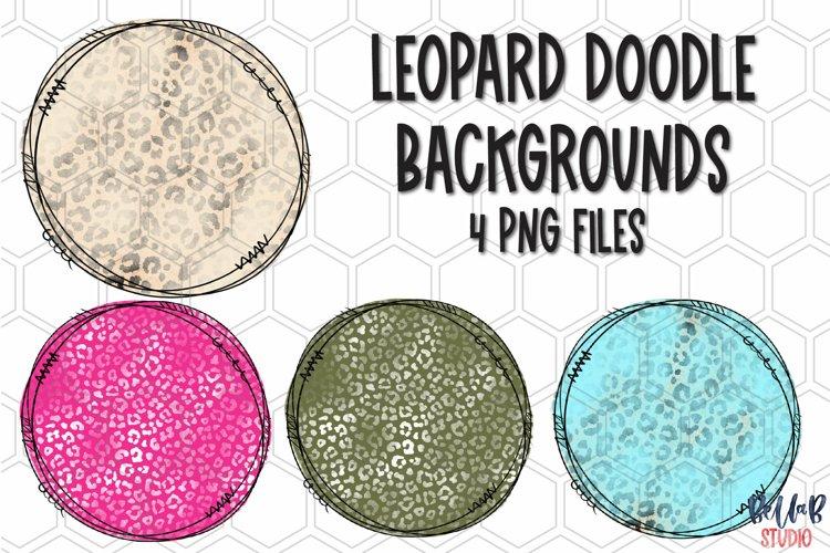 Bleach Effect Leopard Background Bundle, Backsplash example image 1