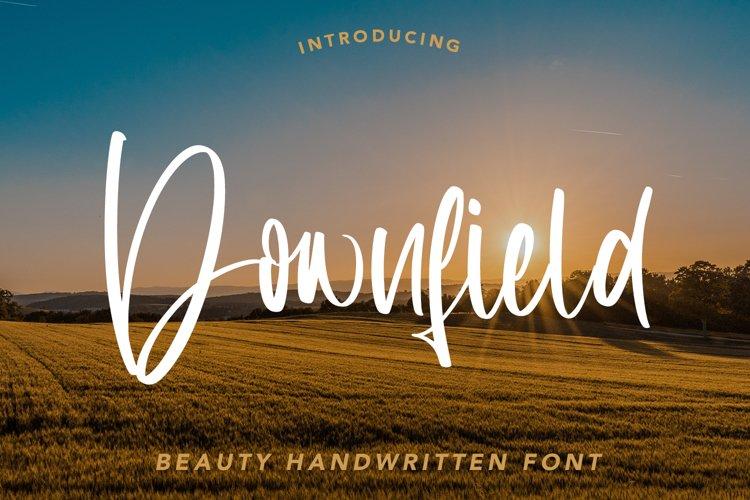 Downfield - Beauty Handwritten Font example image 1