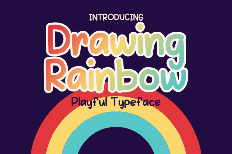 Drawing Rainbow example image 1