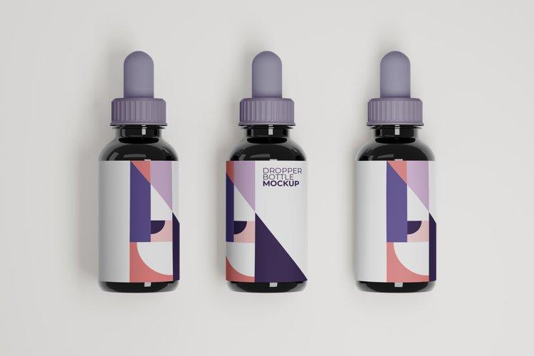 Dropper Bottle Mockup example