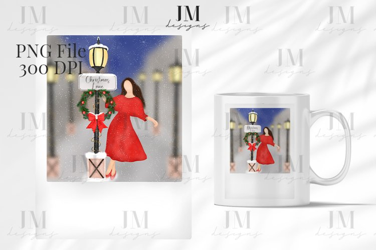 Christmas Polaroid Scene Design