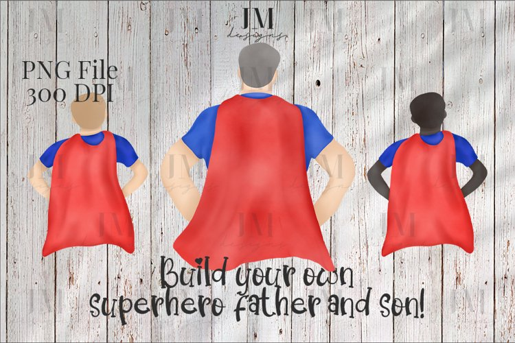Build Your Own Superhero Father And Son Bundle