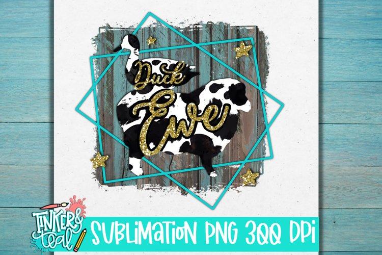 Duck Ewe Farmhouse PNG Sublimation