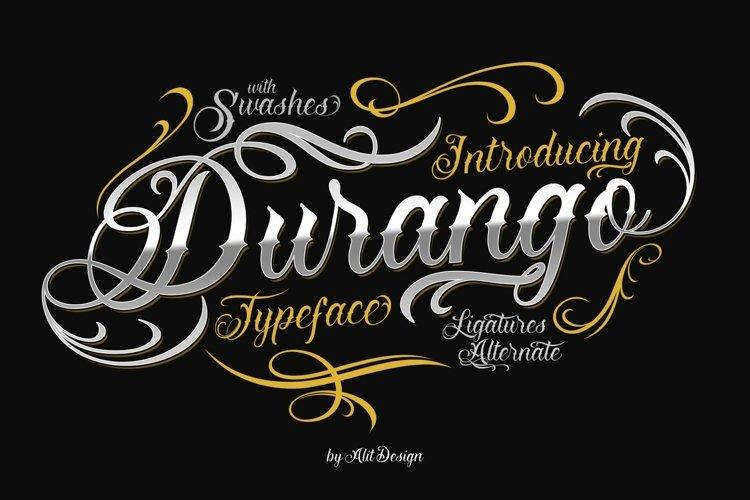 Durango Typeface example image 1