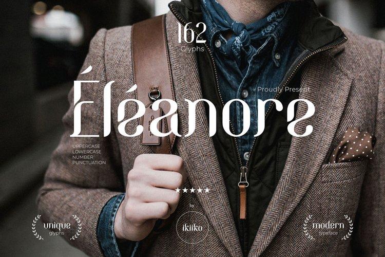 Eleanore Typeface example image 1