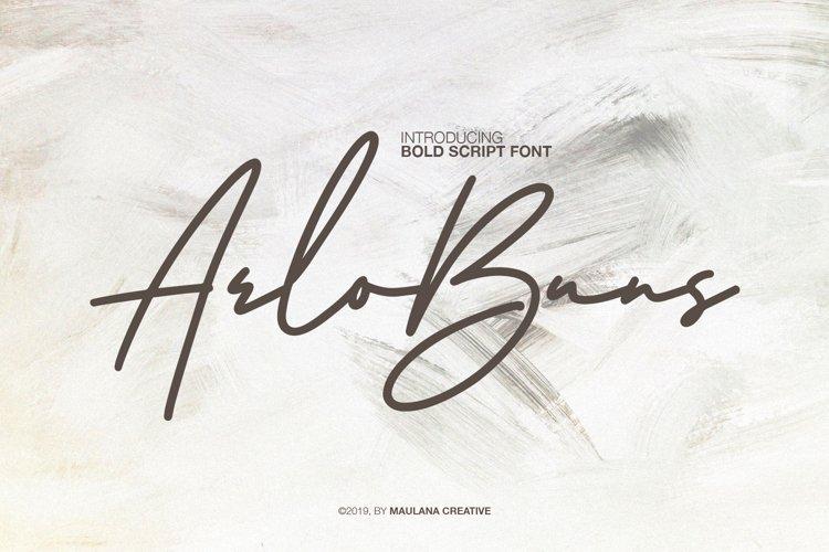Arlobuns Signature example image 1