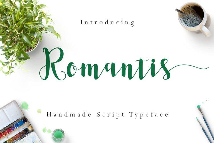 Romantis Script example image 1