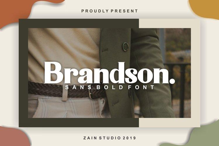 Brandson example image 1