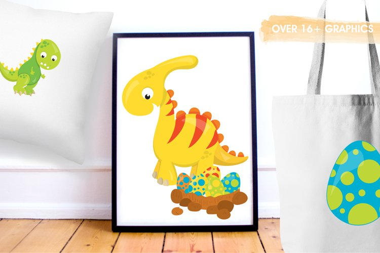 Dinosaur Babies graphics and illustrations - Free Design of The Week Design3