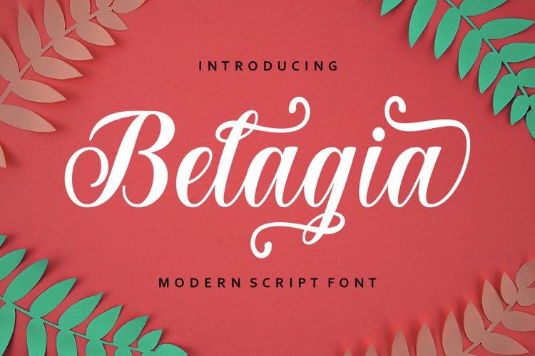 Belagia Script example image 1