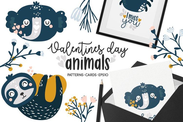 Valentines Day - Cute Animals