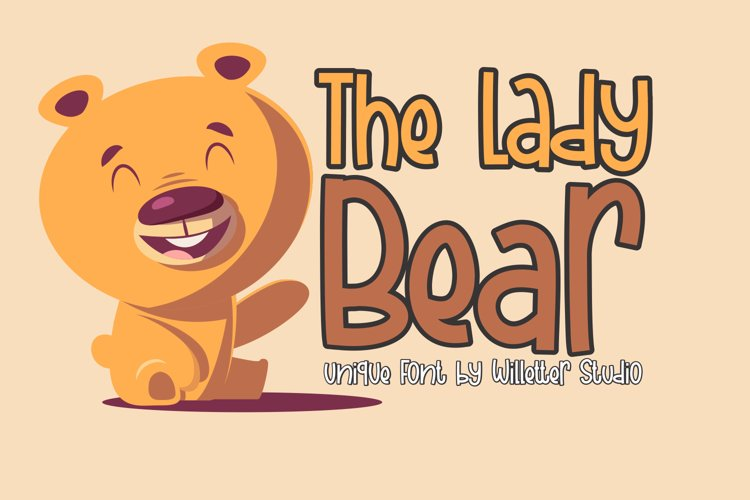 The Lady Bear example image 1