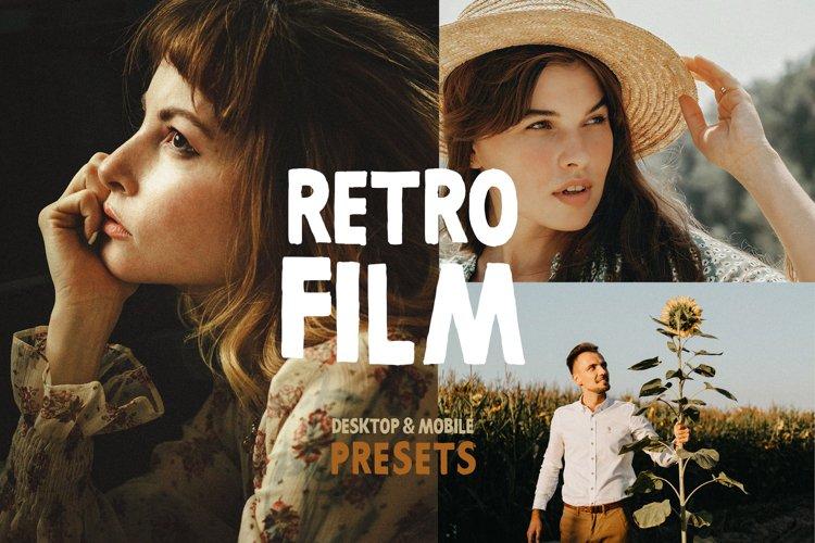 Retro Film Lightroom Presets