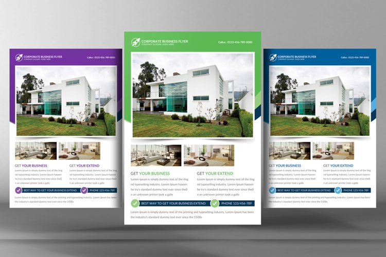 Real Estate Business Flyer Templates example image 1