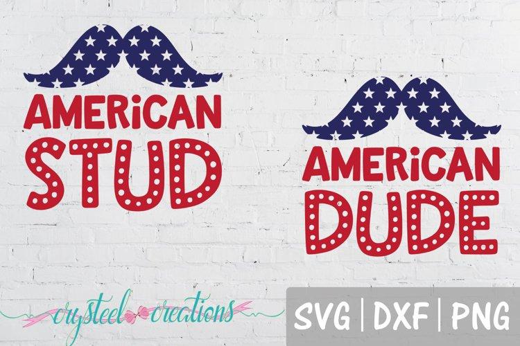 American Stud/Dude-Bundle SVG, DXF, PNG