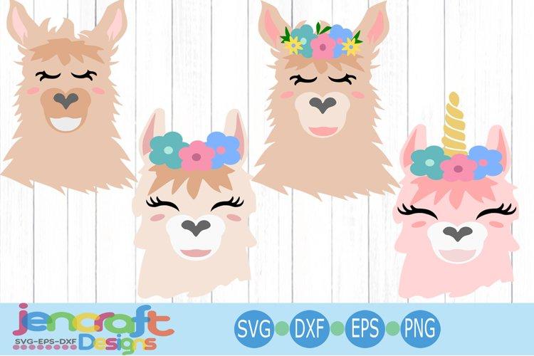 llama face svg, alpaca svg, llama bundle svg, Eyelashes Head example image 1