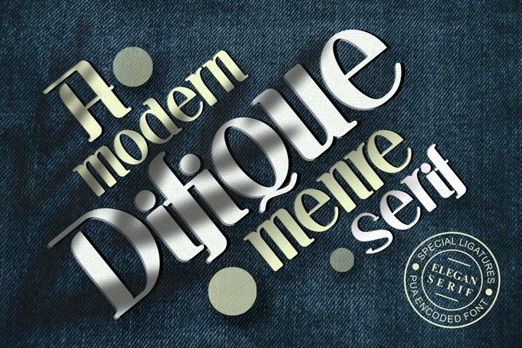 Difique Menre example image 1