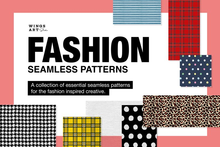 Fashion Fabric Patterns and Prints example image 1