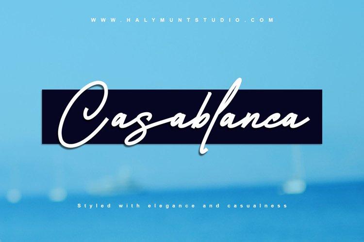Casablanca example image 1