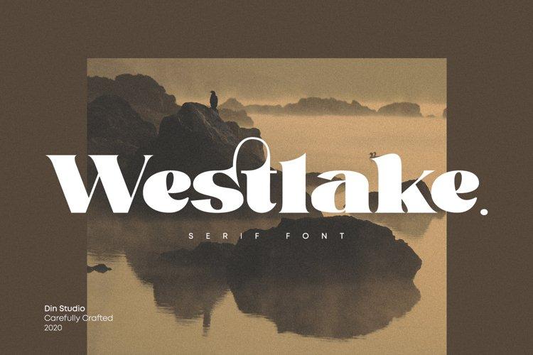 Westlake-Serif Font example image 1