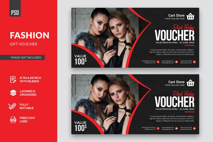 Fashion Gift Voucher example image 1