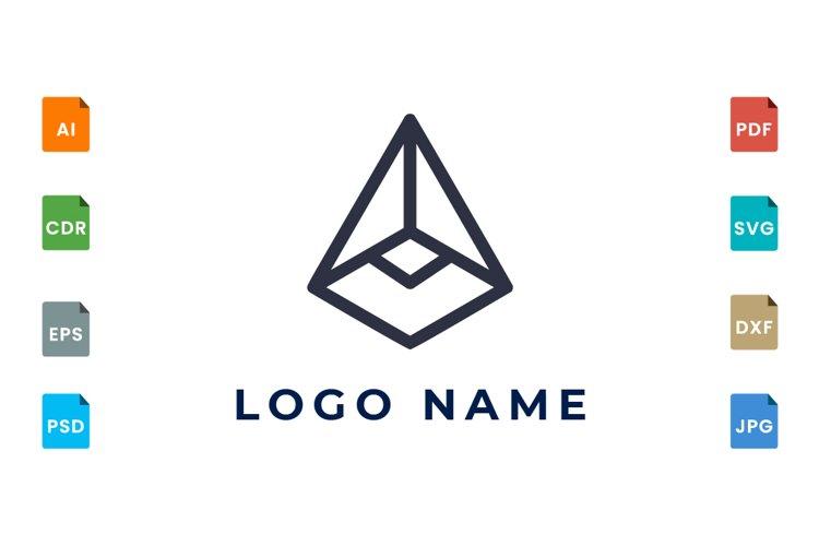 Line geometry logo example image 1