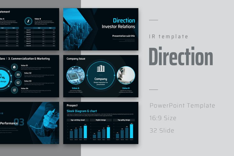 Direction IR Template